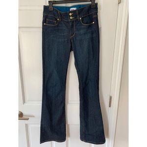 Paige Hidden Hills Petite Boot Jeans Size 27